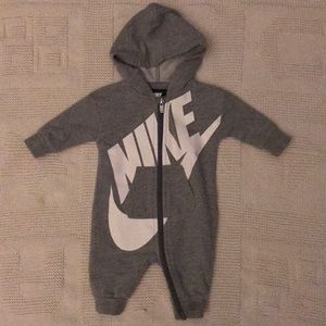 Nike Zip up Bodysuit